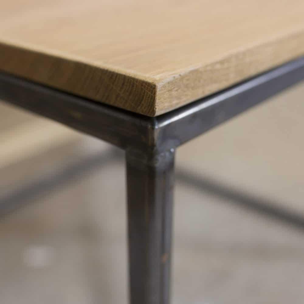 Kubus salontafel hout