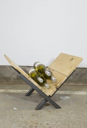 Industrieel wijnrek