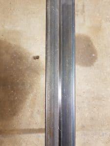 Olie behandeling staal