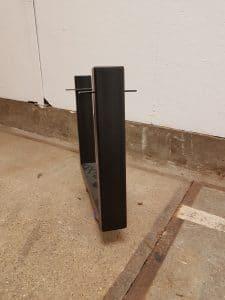 zwarte poedercoat