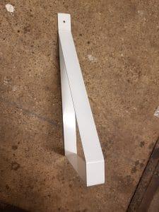 witte poedercoat
