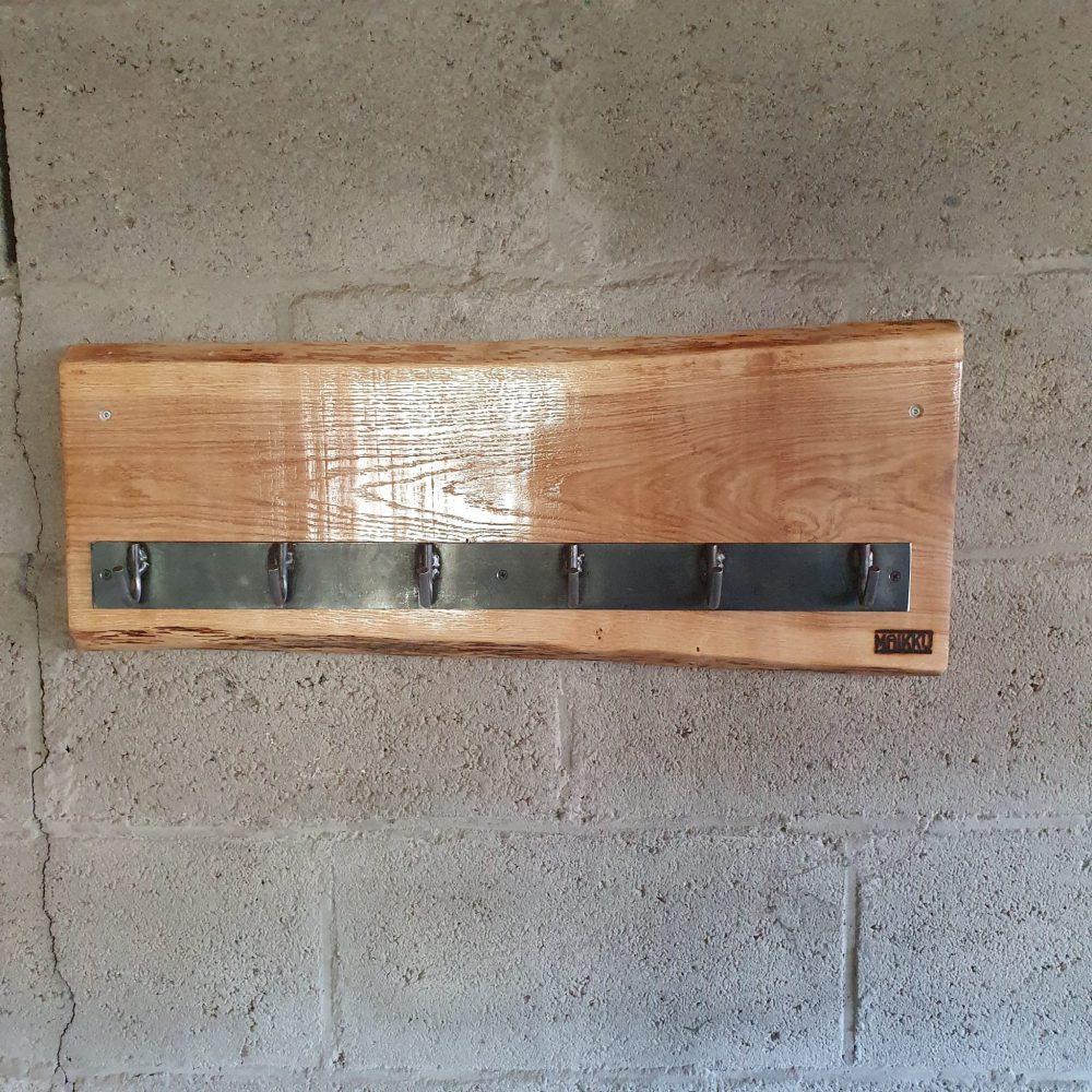 houten wandkapstok